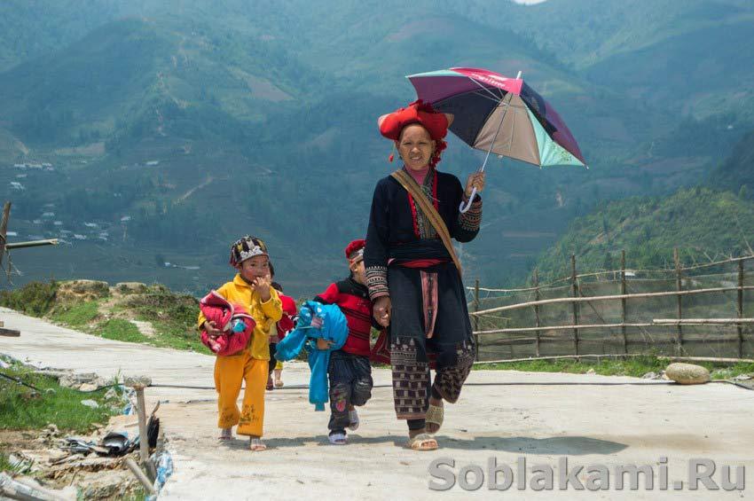 Черные хмонги и красные зао: люди из прошлого