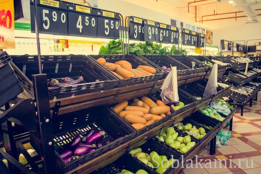 Где купить еду на острове Лангкави: магазины, супермаркеты, рынки