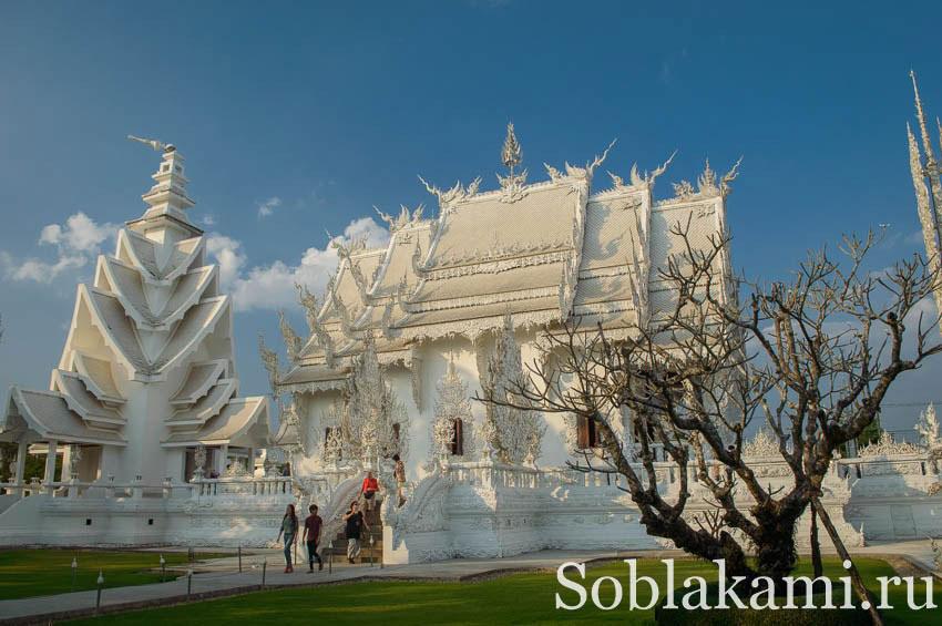 Белый храм в Чианграе (Wat Rong Khun)