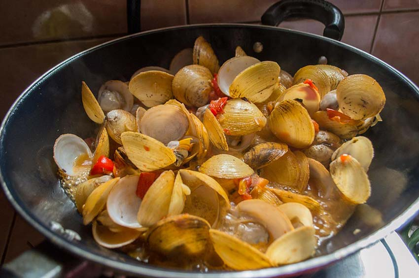 Рецепты приготовления мидий по-филиппински