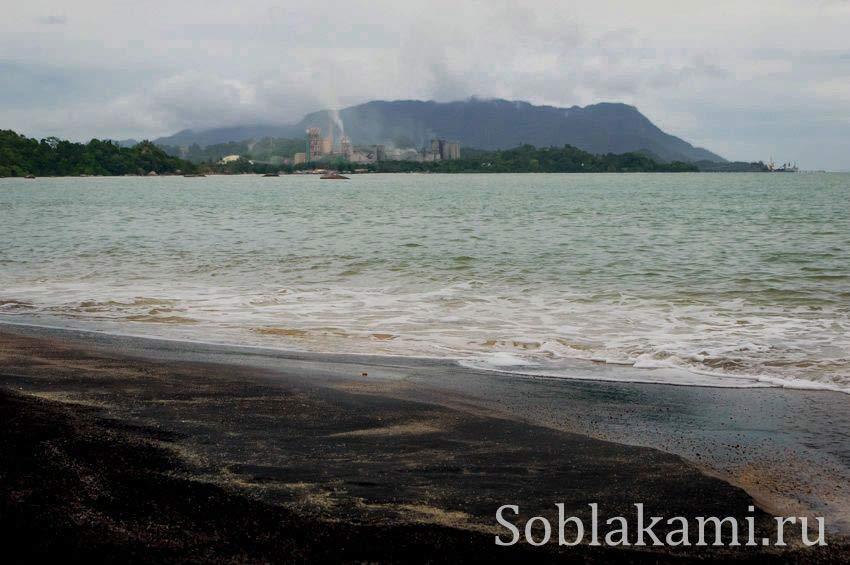 Черный пляж на Лангкави (Black Beach Langkawi)