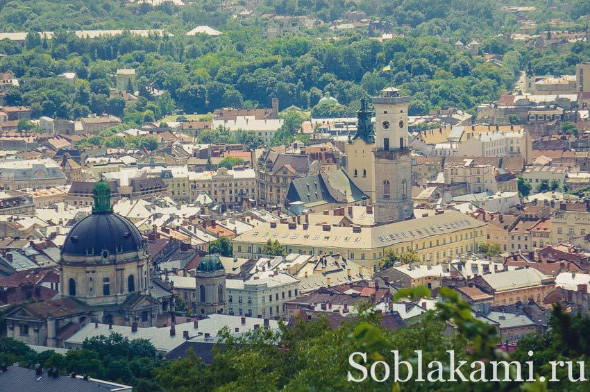 Экскурсия по Львову самостоятельно: день первый