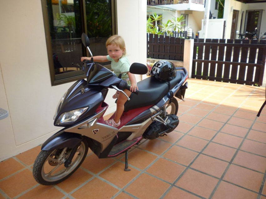 Аренда скутера в Ао Нанге