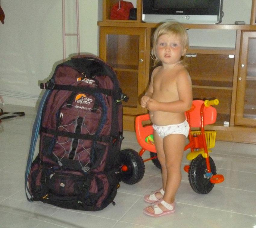 Что взять в дорогу - собираем чемодан